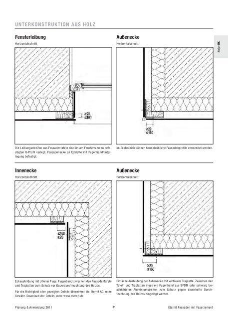 Sehr Holz-UK UNTERKONSTRUKTION HL35