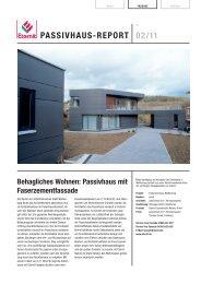 PASSIVHAUS-REPORT 02/11