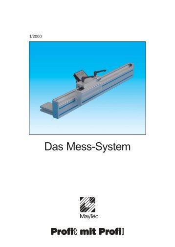 Das Mess-System - ASD Aluminium Systemtechnik Gmbh Bochum