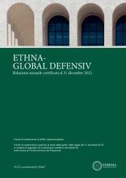 nota integrativa alla relazione annuale al 31 dicembre 2012 - Ethenea
