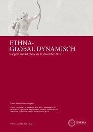 compte de résultat du fonds ethna-global dynamisch - Ethenea