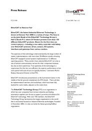English - EtherCAT Technology Group