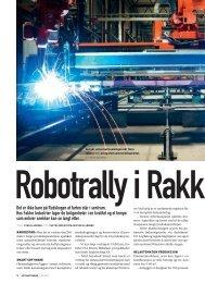 Robotrally i Rakk estad - EtherCAT