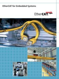 EtherCAT for Embedded Systems