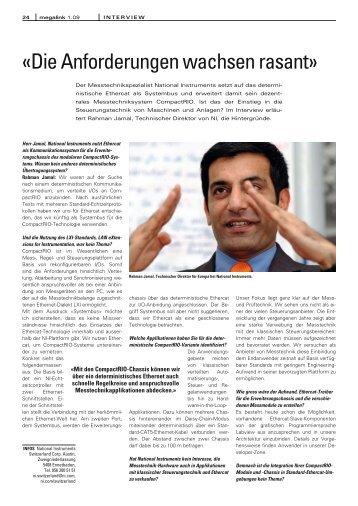 Rahman Jamal: Die Anforderungen wachsen rasant - EtherCAT