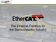 EtherCAT Technology Introduction