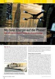 Mr. Sulu: Energie auf die Phaser! - EtherCAT