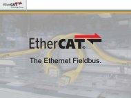 The Ethernet Fieldbus. - EtherCAT