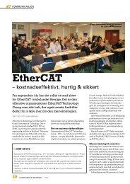 30 automatisering & industridata - EtherCAT