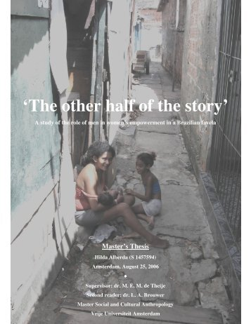 'The other half of the story' - E-thesis