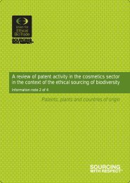 A review of patent activity in the cosmetics - the Union for Ethical ...