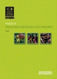 'Aprovisionándose con respeto' - the Union for Ethical BioTrade