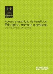 Princípios, normas e práticas - the Union for Ethical BioTrade