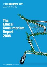 The Ethical Consumerism Report 2008
