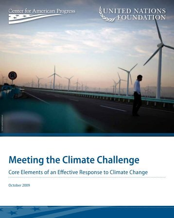 Meeting the Climate Challenge - Center for American Progress