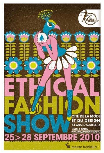 En 2010... - Ethical Fashion Show