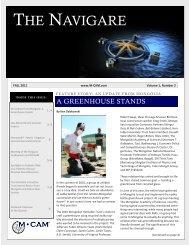 Fall 2011 Newsletter.pdf - M-cam.com