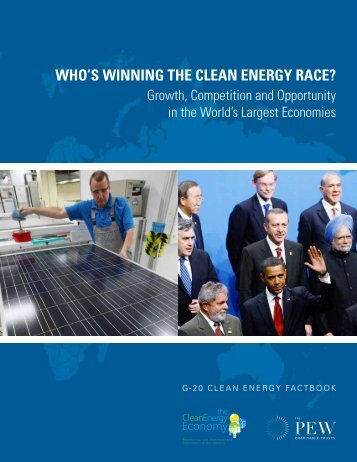 Who's Winning the Clean Energy Race? - The Pew Charitable Trusts