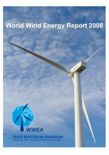 World Wind Energy Report 2008 - Ethical Markets