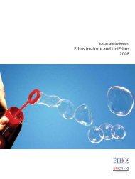 Ethos Institute and UniEthos 2008