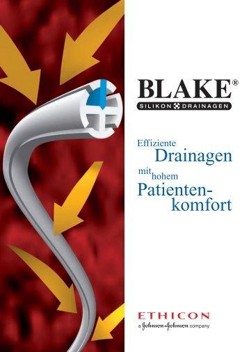 BLAKE® Silikon-Drainagen - Ethicon Products