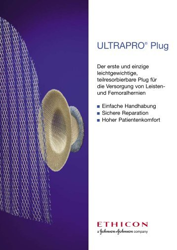 ULTRAPRO® Plug - Ethicon Products