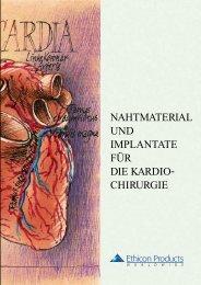 nahtmaterial und implantate für die kardio- chirurgie - Ethicon