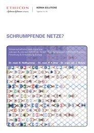 SCHRUMPFENDE NETZE? - Ethicon