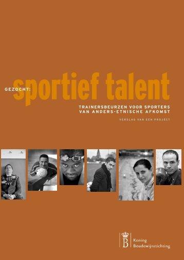 GEZOCHT: - Internationaal Centrum voor Ethiek in de Sport