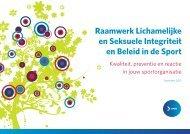 Raamwerk Lichamelijke en Seksuele Integriteit en Beleid in ... - BVLO
