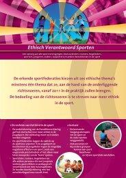 Ethisch Verantwoord Sporten - Internationaal Centrum voor Ethiek in ...