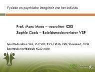 Powerpoint-presentatie - Marc Maes en Sophie Cools - workshop 1