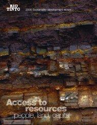 Rio Tinto sustainability 2006.pdf - Ethics World