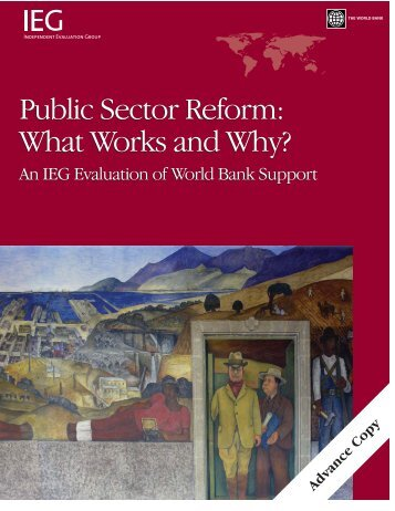 Public Sector Reform: What Works and Why? - World Bank Internet ...