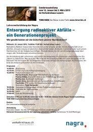Entsorgung radioaktiver Abfälle – ein ... - ethik-labor.ch