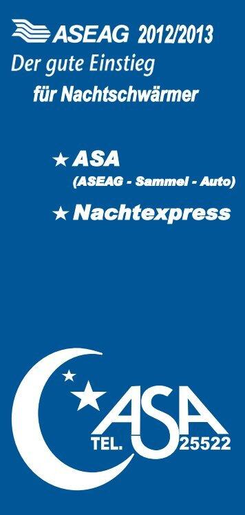 ASA - ASEAG Der gute Einstieg