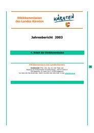 Ethikkommission des Landes Kärnten