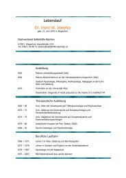 Dr. Horst SEKERKA - Ethikkommission des Landes Kärnten