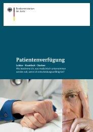 Patientenverfügung - Bundesministerium der Justiz