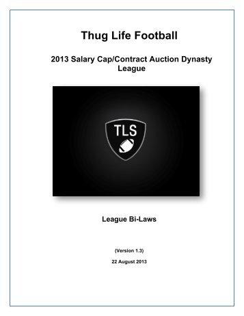 Thug Life 24 Team Bi-Laws