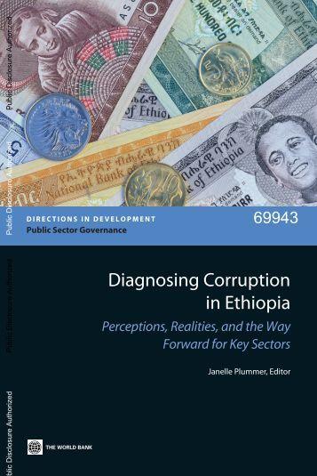 Diagnosing Corruption in Ethiopia - Ethiomedia