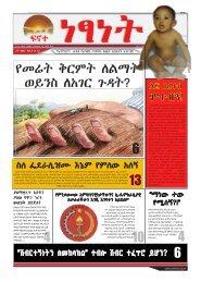 የመሬት ቅርምት ለልማት - Ethiopia: A voice for the voiceless