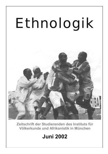 Ethnologik - Ethnologie - LMU