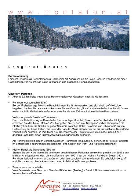 Schruns - Nachrichten aus der Gemeinde | assessment-software.com