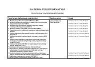 Tematy prac dyplomowych 2010/2011