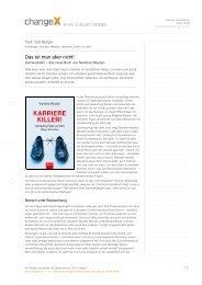 changex.de, .pdf - Etikette und mehr