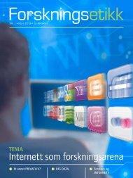 Last ned bladet som pdf - De nasjonale forskningsetiske komiteer