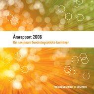 Årsrapport 2006.pdf - De nasjonale forskningsetiske komiteer