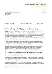 Norsk - De nasjonale forskningsetiske komiteer