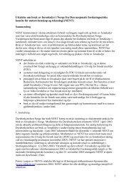 bruk av forsøksdyr i Norge - De nasjonale forskningsetiske komiteer